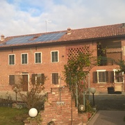 Rifacimento di copertura ed installazione di impianto fotovoltaico, prov. di Alessandria