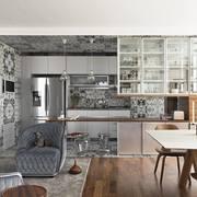 Cucina aperta sul soggiorno