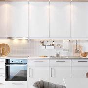 cucina bianca monoblocco