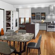 Una cucina ed un soggiorno davvero speciali