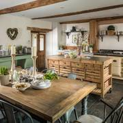 Cucina in stile country