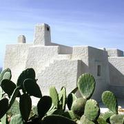 Esterno villa in stile mediterraneo
