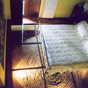 Ex fienile riadattato a camera da letto