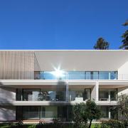 Facciata edificio a Bolzano