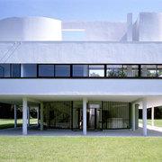 facciata villa savoye le corbusier