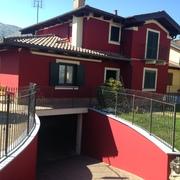 Tinteggiatura e decorazione esterna abitazione