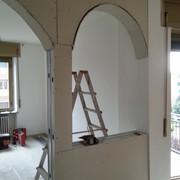 formazione di parete ad arco