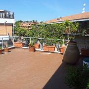 Lavori di restauro piano attico e copertura condominiale Via Portuense
