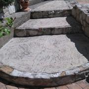 Distributori Scrigno - Gradini in cemento