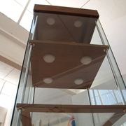 progetto di una vetrina espositiva