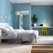 illuminazione camera da letto bianca