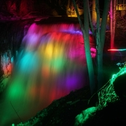 illuminazione fontane