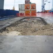 Inizio scavo a sezione obbligata