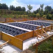 Realizzazione platee di fondazione per casa in legno e canile