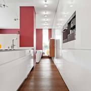 interno casa prefabbricata cucina