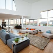 Interno di una residenza di Zaha Hadid a CityLife