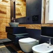 Le geometrie del bagno padronale