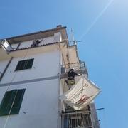 Messa in sicurezza ricostruzione e pittura