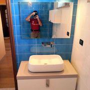 Mobile bagno con lavabo d' arredo