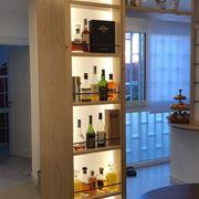 Mobile Liquor display retroilluminato su misura