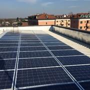 Progetto e realizzazione di impianto fotovoltaico in Vimodrone (MI)