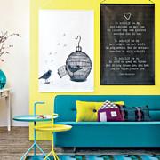 parete gialla