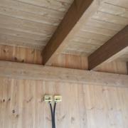 pareti in xlam e solaio in legno