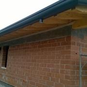 particolare copertura in legno
