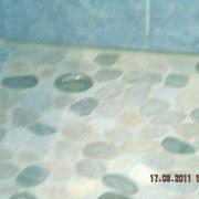 pavimentazione in mosaico prima del trattamento