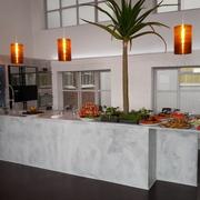 Pavimento e Cucina in Resina Materia by Elekta