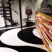 Distributori Kerakoll - Pavimento in resina  epossidica decorato Como