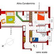 Progetto ritstrutturazione appartamento f. 2015