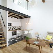 Piccolo appartamento con soppalco