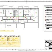 Planimetria posizionamento impianto piano terzo