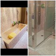 Distributori Kerakoll - Trasformazione vasca in doccia