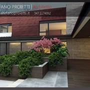 Progettazione per una villa bifamiliare in fase di progettazione