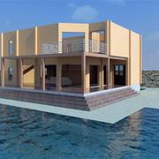 Progetto Realizzazione Villino in legno su due livelli