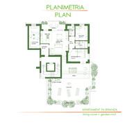Interior design di attico + Garden design terrazza