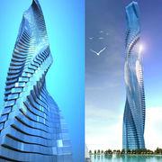 Progetto grattacielo rotante per Dubai