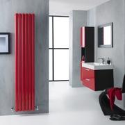 radiatore colorato rosso