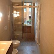 Restyling bagno senza modifiche di murature.