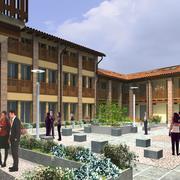 Ristrutturazione cascina con corte interna a Bonate Sotto (BG)