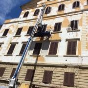 Ristrutturazione facciata edificio
