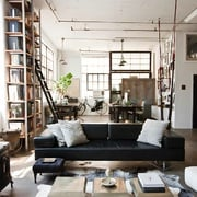 ristrutturazione soggiorno stile scandinavo