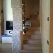 scala in Rovere Francese Massello Sand