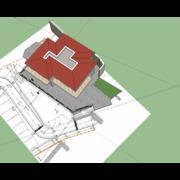 Progetto rendering 3D di immobili residenziale a Camogli (GE)