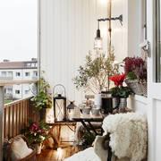 Sfruttare la terrazza in inverno
