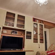 Soggiorno con mobile Tv e illuminazione a led