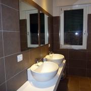 Progetto realizzazione specchi bagno ufficio idee vetrai - Specchi bagno roma ...