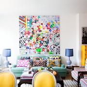 stile eclettico: mix di tendenze e materiali